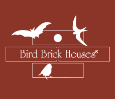Brick Bird Houses