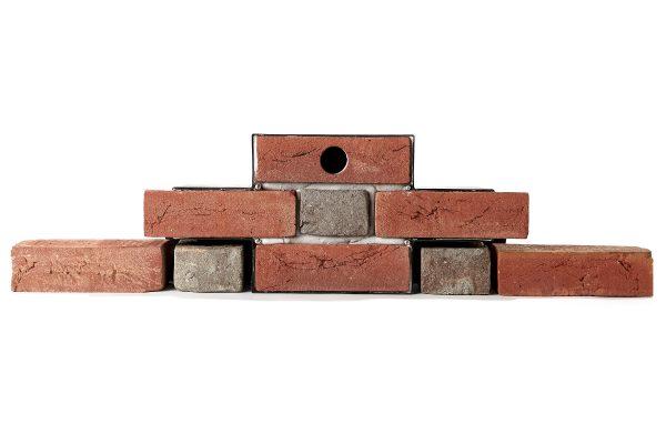 Flemish Box House Sparrow nest box brick matched
