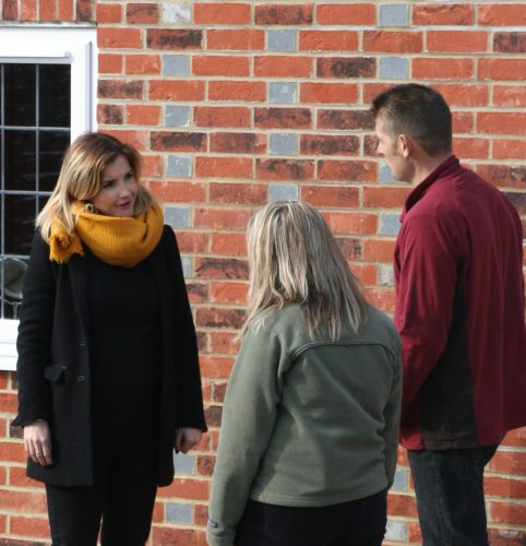 Countryfile, Helen Skelton visits Bird Brick Houses to see how bird houses are constructed