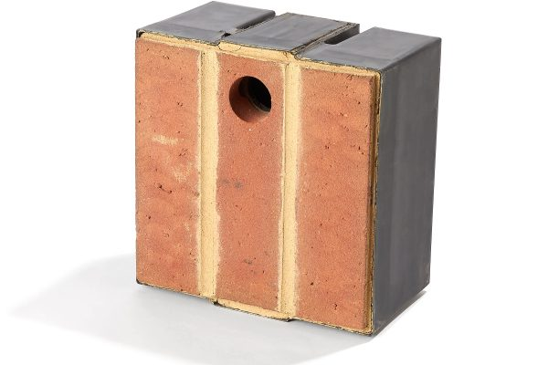 Brick matched soldier bond bird nesting box Architect