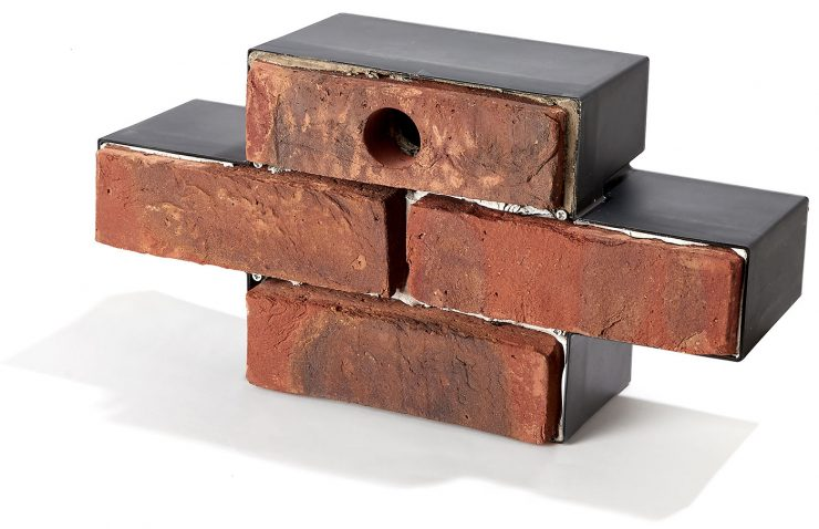 Brick bird nesting box suitable for House Sparrow, Blue and Great Tits